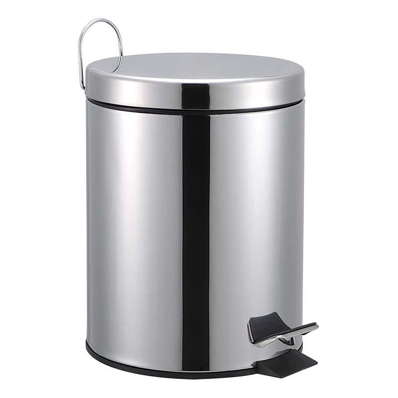 5L-Stainless-Steel-Foot-Operated-Garbage-Waste-Bin
