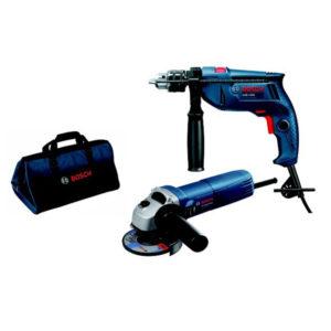 Bosch Drill & Grinder Set Image
