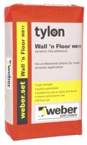 Tylon Wall & Floor 20kg Tile Adhesive Image